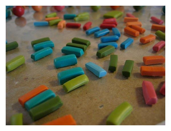 Polymer-beads