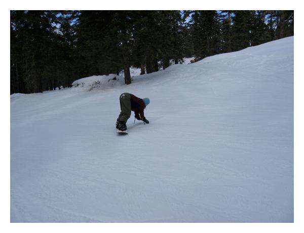Snowboardingtoeedge
